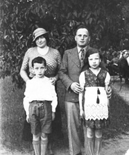 Noach (Natan) and Bluma Blas, Moshe and Guta Lodz Poland June 2, 1936